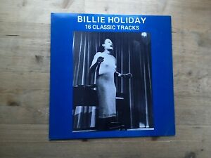 Billie-Holiday-16-Classic-Tracks-Excellent-Vinyl-Record-MCL-1688