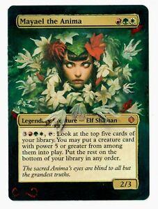 Mayael-the-Anima-Altered-Full-Art-MTG-Magic-Commander-EDH-Birthday-Gift-Legend