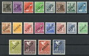 Berlin MiNr. 1-20 postfrisch MNH Fotoattest Schlegel (MA1084