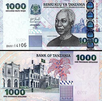 TANZANIA 1000 1,000 SHILLINGS 2003 UNCIRCULATED P-36