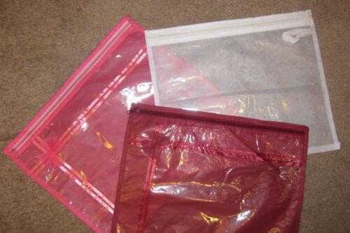 20 Bordeaux Blanc silversaree Sari Vêtement sacs de stockage vêtements armoire Organisateur