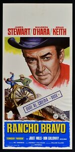 L148 Plakat Rancho Bravo The Rare Breed 1966, James Stewart, Mclaglen West