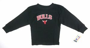 NEW-MAJESTIC-BOYS-BLACK-CHICAGO-BULLS-NBA-L-S-THERMAL-SHIRT-SIZE-4