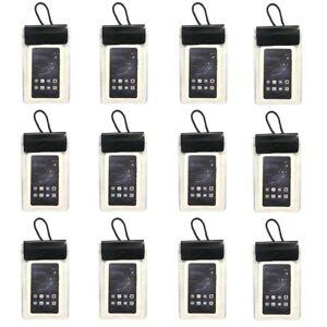12er-Set-Wasserdichte-Smartphone-Handy-Schutzhuelle-Brustbeutel-Umhaengebeutel