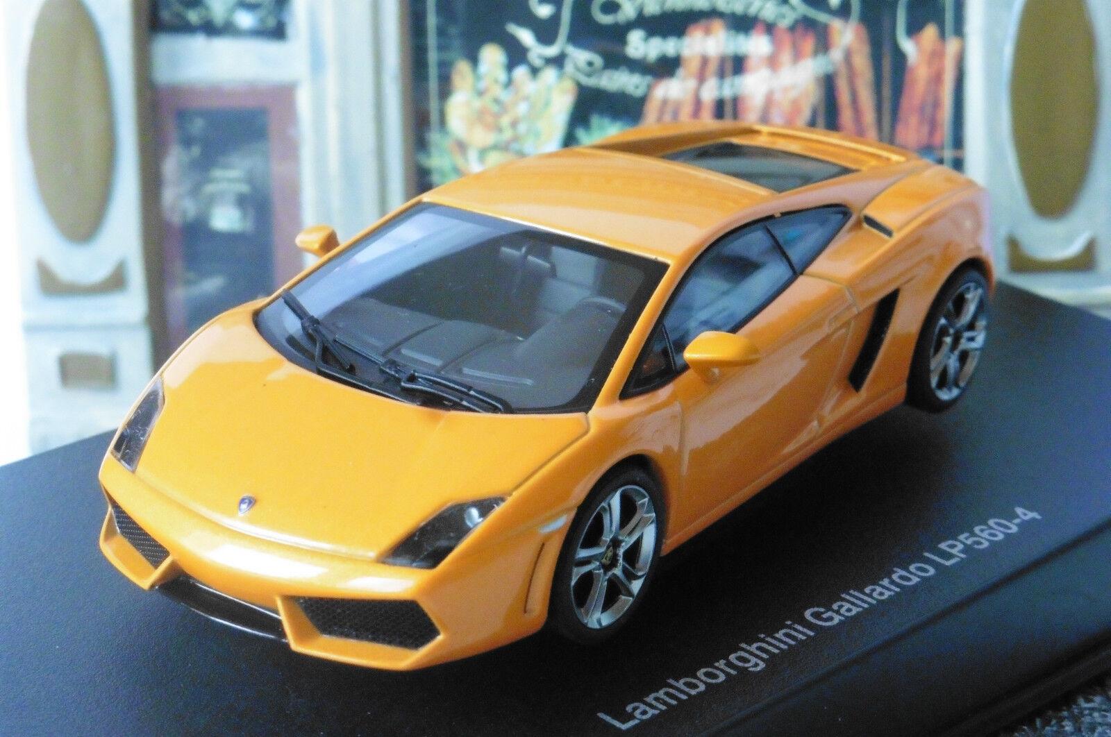 LAMBORGHINI GALLARDO LP560-4 Orange METALLIC AUTOART 54616 1 43 METAL ITALIA