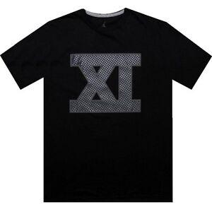 4b1e4f62ff74a  32 Nike Air Jordan 11 XI space jam carbon fiber Tee (black) shirt ...