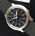 Seiko Black Tactical SNK809K2 reloj automático con correa de nylon negra SNK809