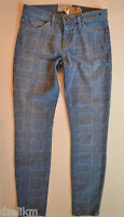 $228 Current Elliott Stiletto Bandana Print Jeans Size 25