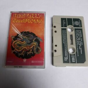 THIN-LIZZY-CHINATOWN-CASSETTE-TAPE-1980-GREEN-PAPER-LABEL-VERTIGO-UK