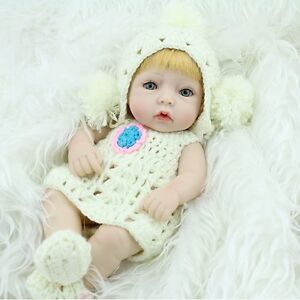 10-034-Reborn-Baby-Girl-Dolls-Lifelike-Vinyl-Realistic-Newborn-Kids-Xmas-Doll-Toys