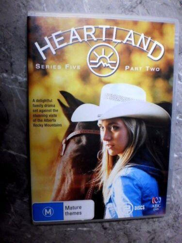 1 of 1 - HEARTLAND Series 5 part 2 (DVD,Region 4, 2-Disc) A2