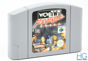 WCW NWO Revenge-N64 Nintendo 64 Retro Juego cartirdge PAL [1]
