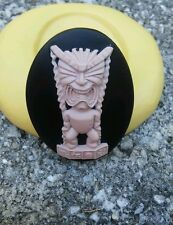 Hawaiian spirits  cameo silicone push mold mould  resin sugar craft