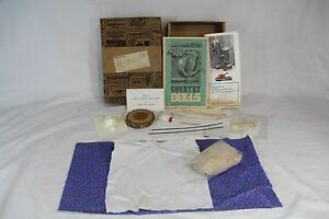 SILVER-DOLLAR-CITY-COUNTRY-DOLLS-Unused-amp-Open-Kit-From-Circa-1975-Mail-Order