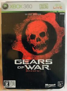 Gears-of-War-Limited-Collector-039-s-Edition-Microsoft-Xbox-360-Tin-Japanese-Ver