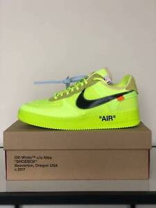 half off 04387 03a63 Details about ⚡⚡ Top 10 Off-White x Nike Air Force 1 Low Volt AO4606-700 ⚡  ⚡Size Us 9.5 ⚡ ⚡