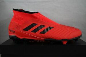 Adidas Predator 19.3 LL FG (Talla 11) Active RojoCore Negro