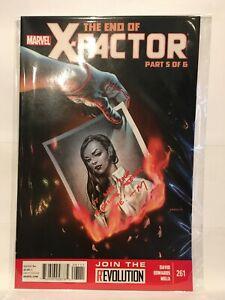 X-Factor-261-VF-NM-1st-Print-Marvel-Comics
