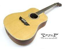 Western-Gitarre / Akustik-Gitarre Spear SD 70, incl. dick gefüttertes Gigbag