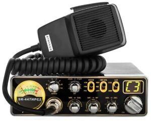 Stryker-SR-447HPC2-10-Meter-Amateur-Ham-Mobile-Radio-AM-FM-55-Watts-PEP-Slim-New