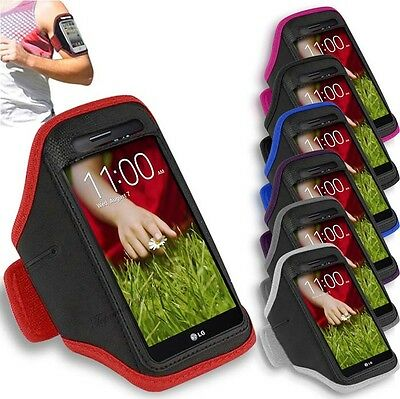 LG G3 - Sports Running Jogging Gym Armband Case Cover Holder
