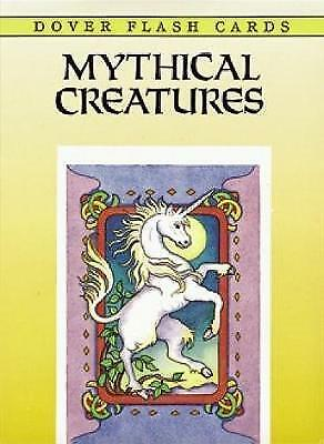 New, Mythical Creatures Flash Cards (Dover Little Activity Books), Noble, Marty,