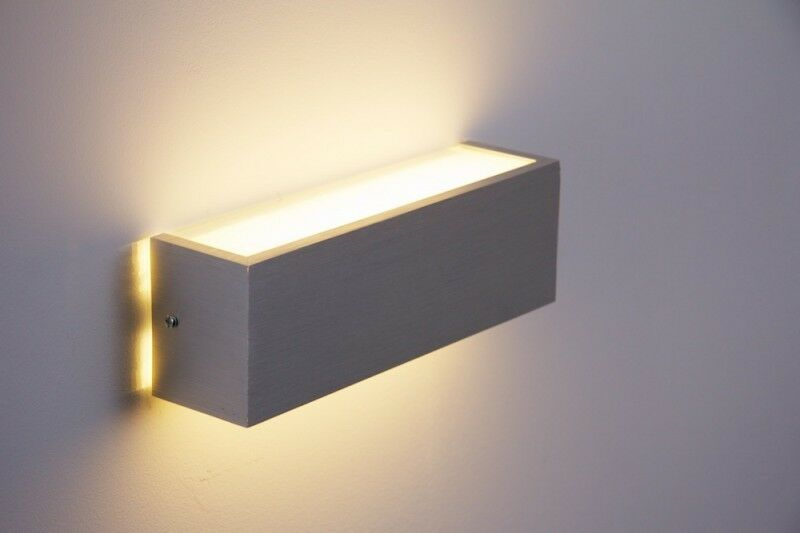 Led design applique up down corridoio tavole lampade lampade