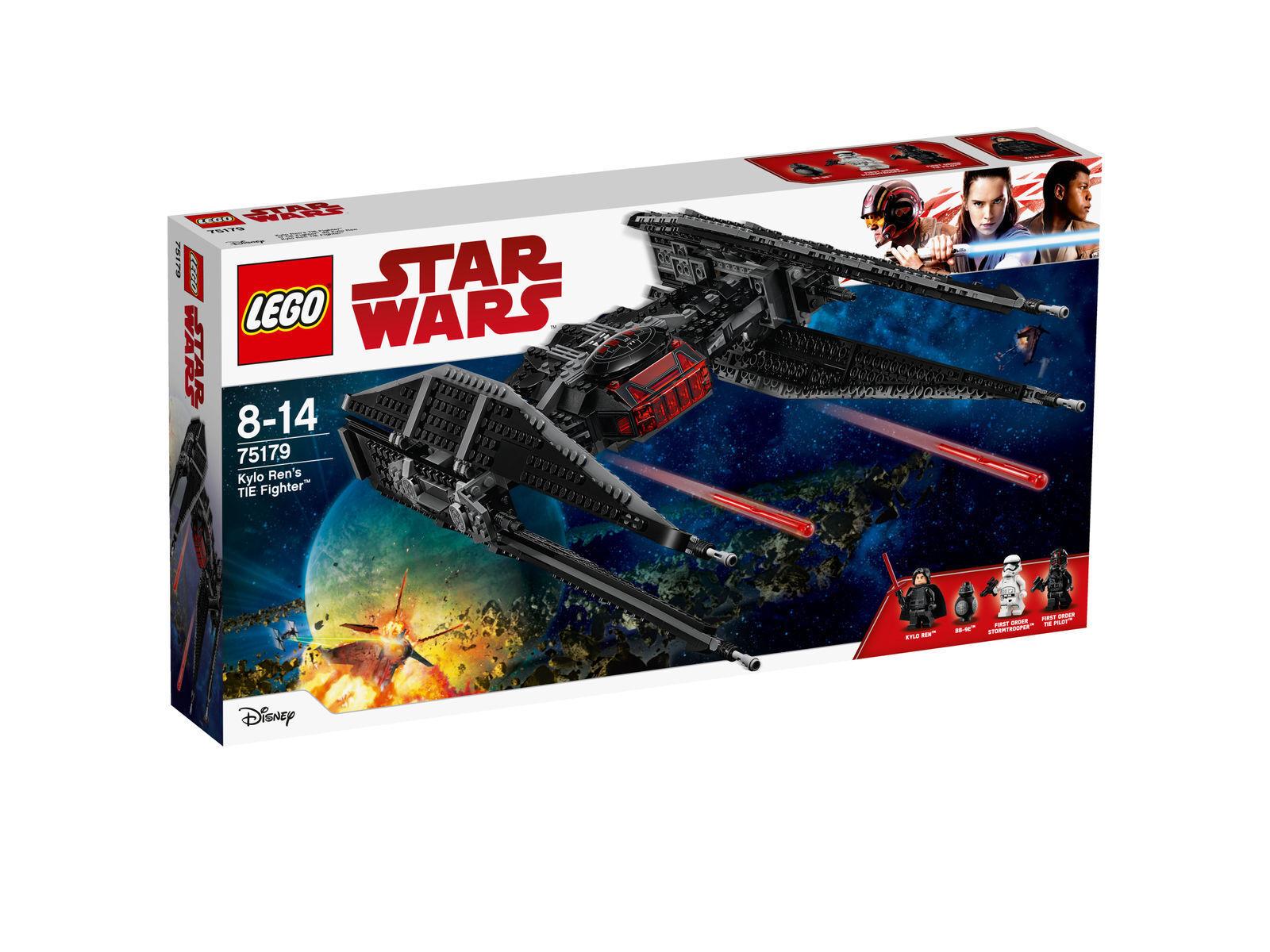 LEGO Star Wars - 75179 Kylo Ren's TIE Fighter mit BB-9E - Neu & OVP
