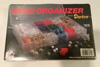 Darice Organizer Bead 17 Comp Clear 10.25x 6.75 Craft Supplies