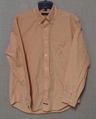 Nautica Mens Long Sleeve Poplin Multi Plaid Shirt