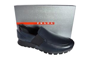 New Authentic PRADA Mens Shoes Sz US12