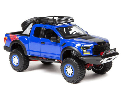 2017 FORD F-150 RAPTOR BLUE OFF ROAD KINGS 1//24 MODEL BY MAISTO 32521