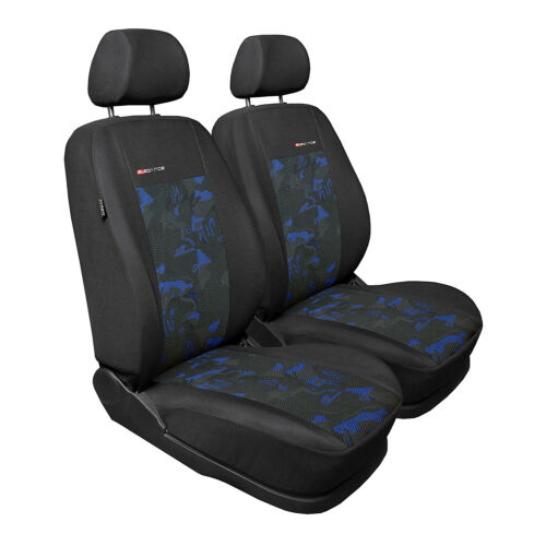 Opel Astra Front 1+1 Blau Universal Sitzbezüge Schonbezüge Schonbezug Autositz
