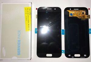 SAMSUNG-Display-LCD-Originale-Touch-Screen-Per-Galaxy-A5-2017-SM-A520F-Nero