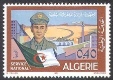 Algeria 1973 National Service/Army/Soldier/National Flag/Buildings 1v (n41381)