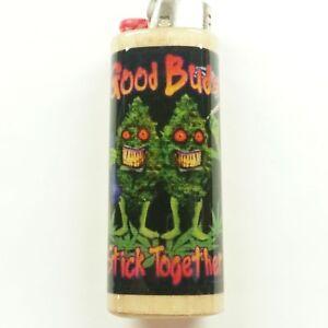 Details about Good Buds Stick Together Lighter Case Holder Sleeve Cover  Fits Bic Lighters