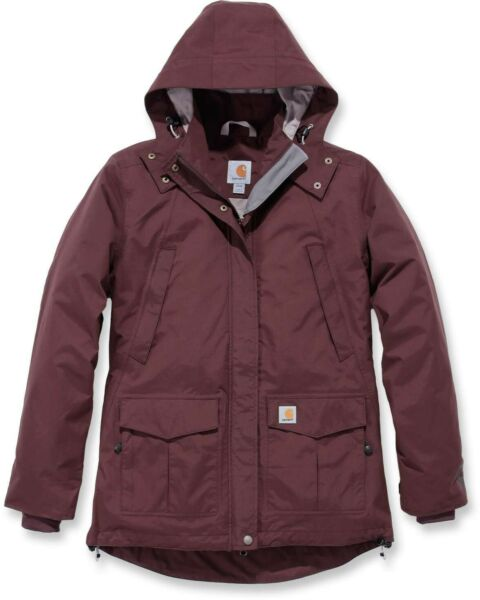 Carhartt Damen Jacke W Shoreline Jacket Deep Wine