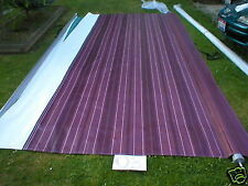 20' RV TRAILER CAMPER 5th WHEEL AWNING CRANBERRY VINYL FABRIC NEW A&E