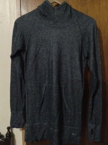 con de Tama manga capucha Nike 6 Camiseta gris para con o o larga guantes de 4 mujer peque daUcgcWRxF