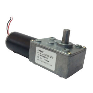 Reversible-12V-Electrical-DC-Worm-Gear-Motor-260-RPM-High-Speed-Metal-Geared