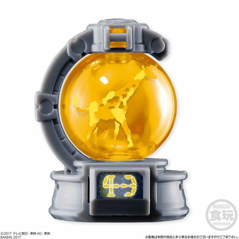 NEW POWER RANGERS Uchu Sentai Kyuranger SG Kyutama Kyutama Kyutama 2 Candy Toy 12 pieces Japan 284ade