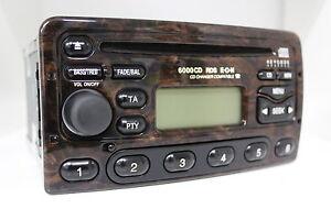 original ford 6000cd rds eon wurzelholz 6000 cd radio 98ap 18c815 db autoradio ebay. Black Bedroom Furniture Sets. Home Design Ideas