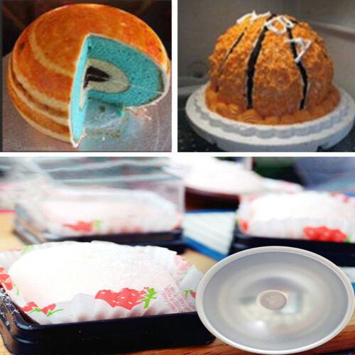 2 utilitaire Ball en Alliage d/'aluminium sphère bain bombe Gâteau Pâtisserie Moule Pâtisserie Moule