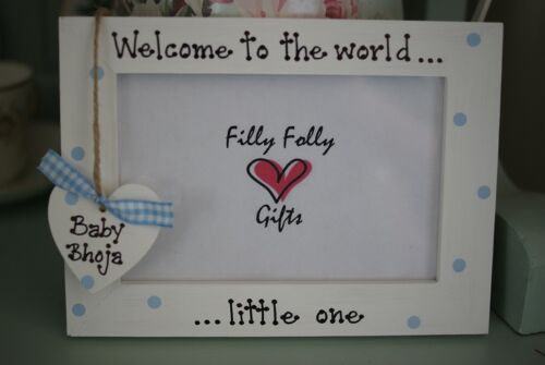 My First Cousin Baby Scan Gift! Personalised Photo Frame by Filly Folly