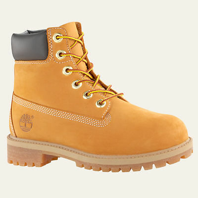 Timberland Youth 6-Inch Premium Waterproof Boots Wheat Style 12709 New In Box