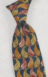 "Krawatten & Fliegen Kleidung & Accessoires 100% Wahr Vtg Joseph Abboud Paisley Muster 3.75 "" Breit Seidenkrawatte Attraktives Aussehen"