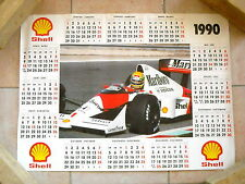 Marlboro - Mc Laren F1 - poster Ayrton Senna - 1990
