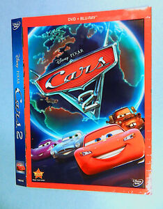 Disney Pixar Cars 2 Dvd Size Slip Cover Only No Disc No Case Ebay