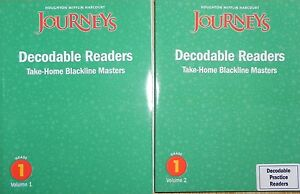 1st Grade Houghton Mifflin Journeys Decodable Reader
