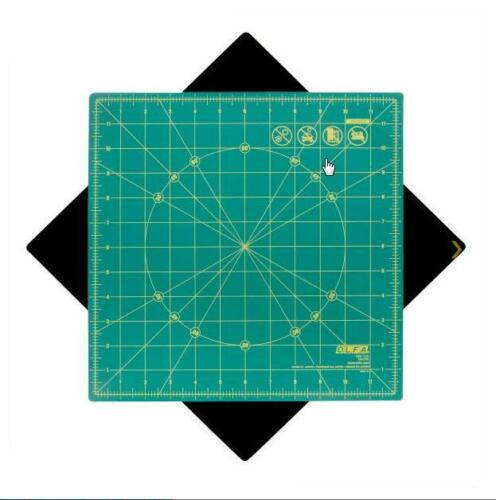 """12/"""" or 17/"""" Olfa Spinning Square Cutting Mat"""
